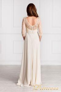 Вечернее платье 12102929. Цвет цветное . Вид 4