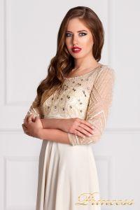 Вечернее платье 12102929. Цвет цветное . Вид 3