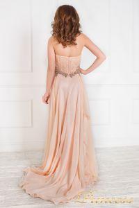 Вечернее платье 12018. Цвет розовый. Вид 2