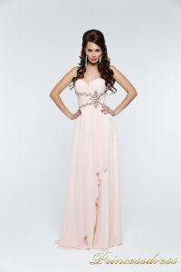 Вечернее платье 121135. Цвет розовый. Вид 3