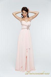 Вечернее платье 121135. Цвет розовый. Вид 1