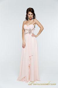 Вечернее платье 121135. Цвет розовый. Вид 2