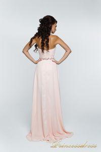 Вечернее платье 121135. Цвет розовый. Вид 4