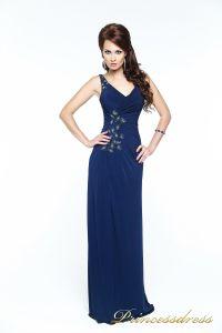 Вечернее платье 121163. Цвет синий. Вид 1
