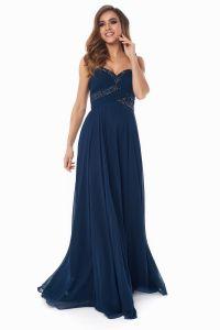 Вечернее платье 121256. Цвет синий. Вид 1