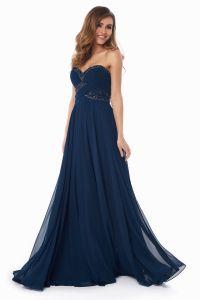 Вечернее платье 121256. Цвет синий. Вид 2