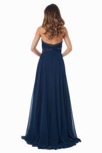 Вечернее платье 121256. Цвет синий. Вид 6