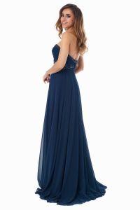 Вечернее платье 121256. Цвет синий. Вид 5