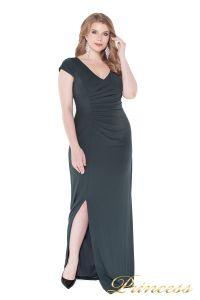 Вечернее платье 1235 dark green. Цвет серый. Вид 2