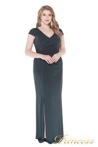 Вечернее платье 1235 dark green. Цвет серый. Вид 3