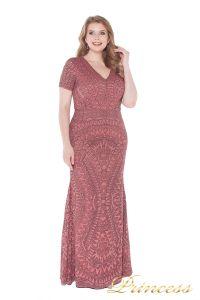 Вечернее платье 1236 pink. Цвет розовый. Вид 1