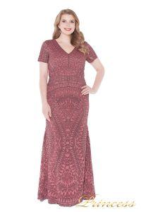 Вечернее платье 1236 pink. Цвет розовый. Вид 2