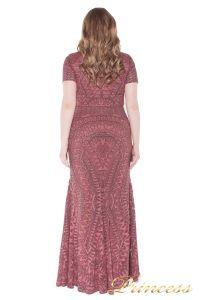 Вечернее платье 1236 pink. Цвет розовый. Вид 3