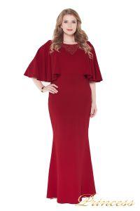 Вечернее платье 1237 red. Цвет красный. Вид 2