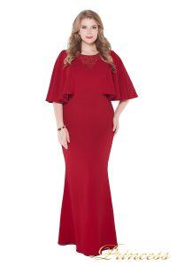Вечернее платье 1237 red. Цвет красный. Вид 1