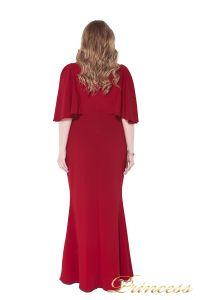 Вечернее платье 1237 red. Цвет красный. Вид 3