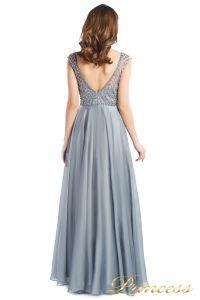 вечернее платье 24166-171 gray. Цвет стальной. Вид 4