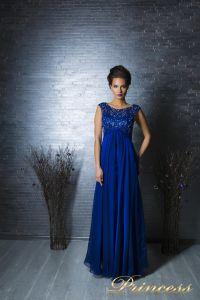 Вечернее платье 2630 N. Цвет электрик . Вид 3