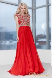 Вечернее платье 130016- ROYAL. Цвет красный. Вид 3