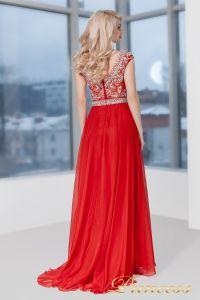 Вечернее платье 130016- ROYAL. Цвет красный. Вид 4