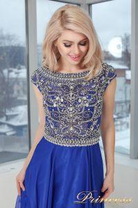Вечернее платье 130016 ROYAL. Цвет электрик . Вид 1
