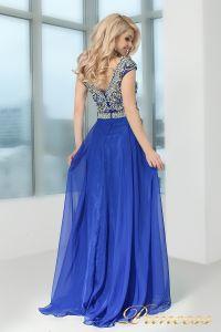 Вечернее платье 130016 ROYAL. Цвет электрик . Вид 4