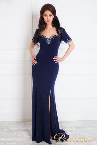 Вечернее платье 130610. Цвет синий. Вид 2