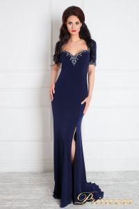 Вечернее платье 130610. Цвет синий. Вид 1