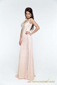 Вечернее платье 131388. Цвет розовый. Вид 2