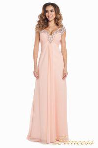 Вечернее платье №131587P. Цвет розовый. Вид 3