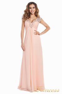 Вечернее платье №131587P. Цвет розовый. Вид 4