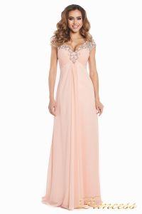 Вечернее платье №131587P. Цвет розовый. Вид 5