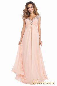 Вечернее платье №131587P. Цвет розовый. Вид 2