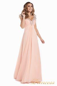 Вечернее платье №131587P. Цвет розовый. Вид 6