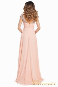 Вечернее платье №131587P. Цвет розовый. Вид 7