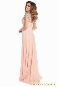 Вечернее платье №131587P. Цвет розовый. Вид 8