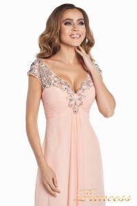 Вечернее платье №131587P. Цвет розовый. Вид 9