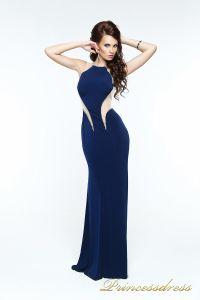 Вечернее платье 131603. Цвет синий. Вид 2