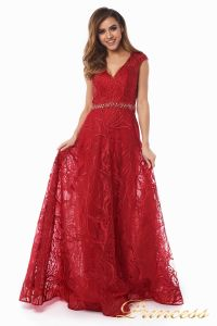 Вечернее платье 13176 wine . Цвет красный. Вид 4