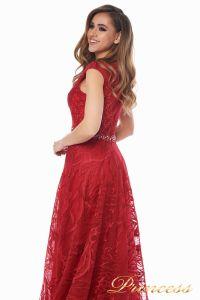 Вечернее платье 13176 wine . Цвет красный. Вид 6