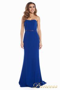 вечернее платье 3200 Royal. Цвет электрик . Вид 3