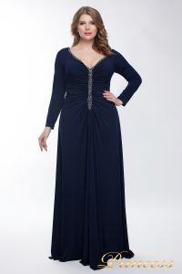 Вечернее платье 13218_navy. Цвет синий. Вид 1