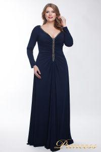 Вечернее платье 13218_navy. Цвет синий. Вид 2