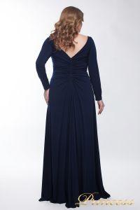Вечернее платье 13218_navy. Цвет синий. Вид 3