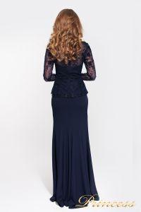 Вечернее платье 13526 NAVY. Цвет синий. Вид 2