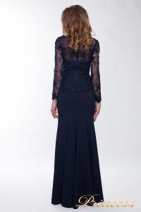 Вечернее платье 13526 navy smal. Цвет синий. Вид 2