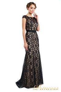Вечернее платье 13710 black. Цвет чёрный. Вид 1