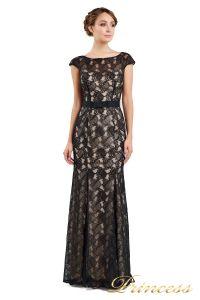 Вечернее платье 13710 black. Цвет чёрный. Вид 2