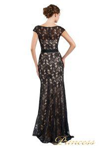 Вечернее платье 13710 black. Цвет чёрный. Вид 3