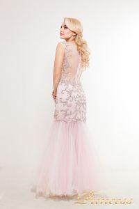 Вечернее платье 1373. Цвет розовый. Вид 2